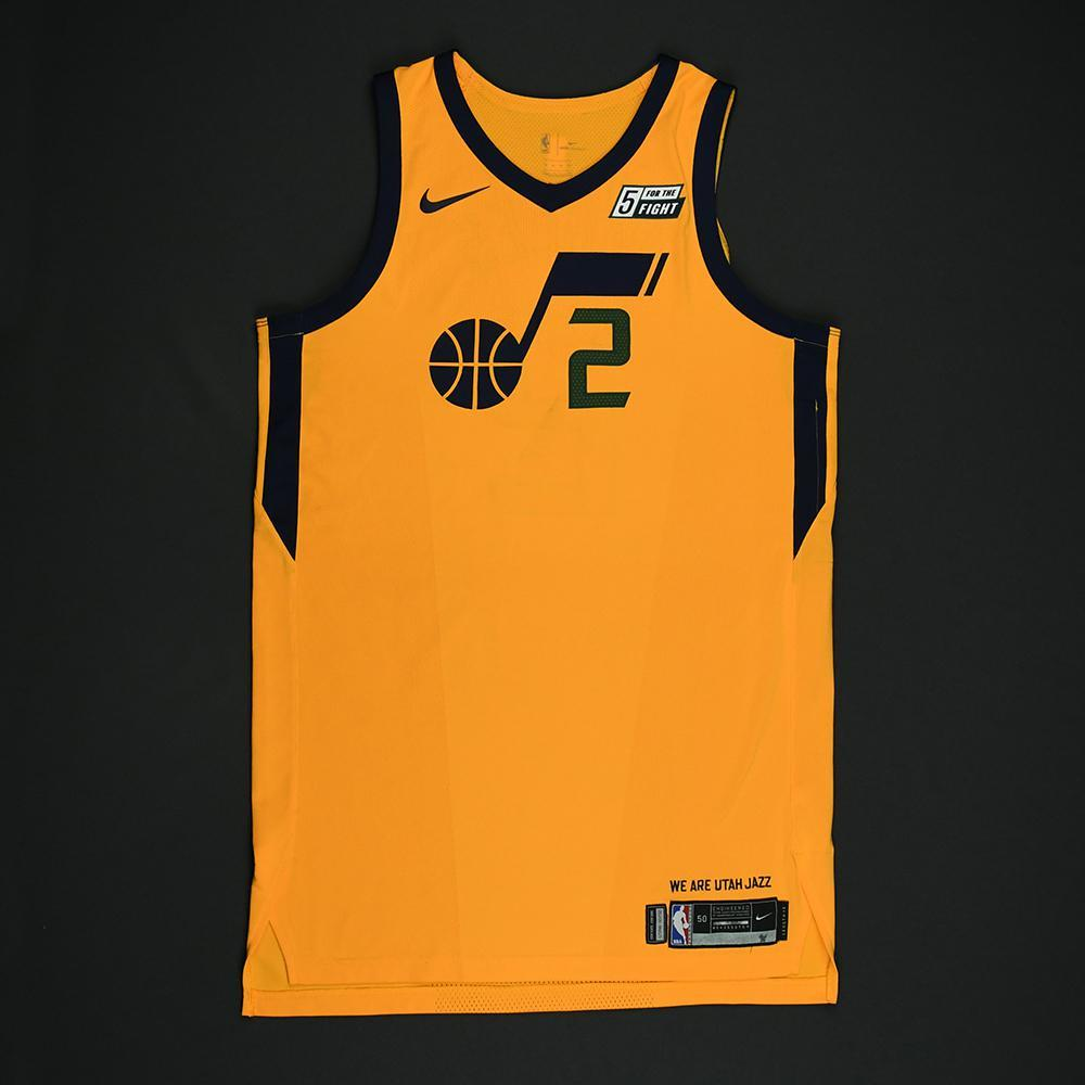 Joe Ingles - Utah Jazz - Game-Worn 'Statement' Jersey - 2017-18 Season