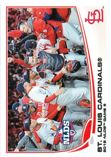 Photo of 2013 Topps #269 St. Louis Cardinals
