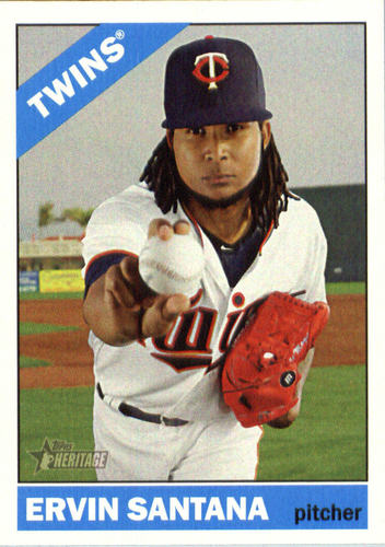 Photo of 2015 Topps Heritage #677 Ervin Santana