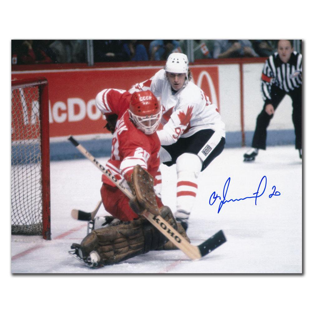 Vladislav Tretiak Team CCCP Russia Autographed 8x10 - NHL ...
