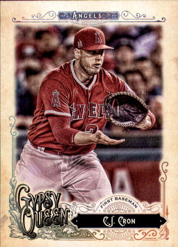 Photo of 2017 Topps Gypsy Queen #253 C.J. Cron