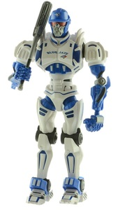 Toy Robot Action Figure by Foamfanatics
