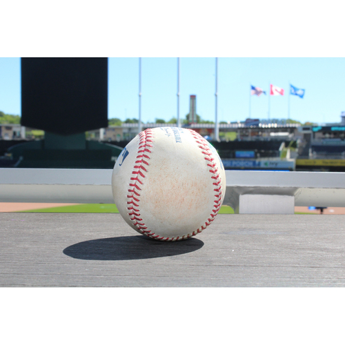 Photo of Jackie Bradley Jr. Single to Right Field (6/20/17 BOS at KC)