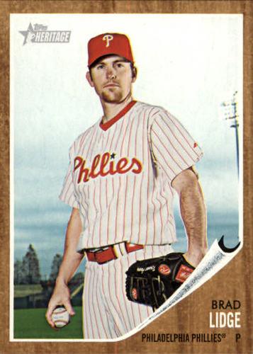 Photo of 2011 Topps Heritage #111 Brad Lidge