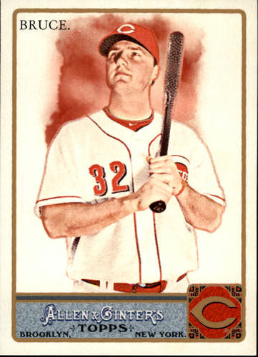 Photo of 2011 Topps Allen and Ginter #197 Jay Bruce