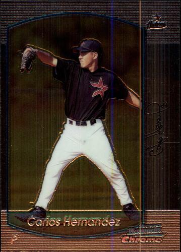 Photo of 2000 Bowman Chrome #212 Carlos Hernandez RC