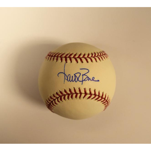Photo of Aaron Boone Autographed Official Major League Baseball (Yankees)