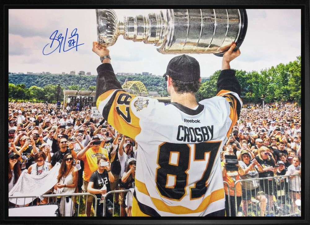 Sidney Crosby - Signed & Framed 20x29