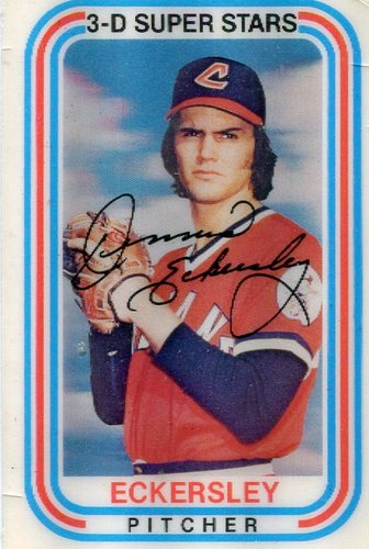 Photo of 1976 Kellogg's #19 Dennis Eckersley