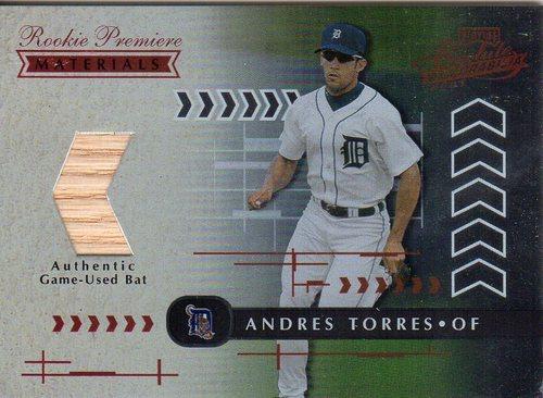 Photo of 2001 Absolute Memorabilia #158 Andres Torres RPM RC
