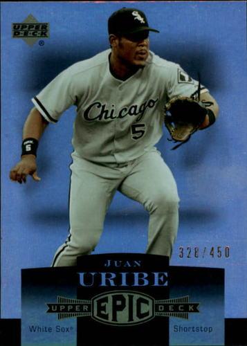 Photo of 2006 Upper Deck Epic #57 Juan Uribe /450