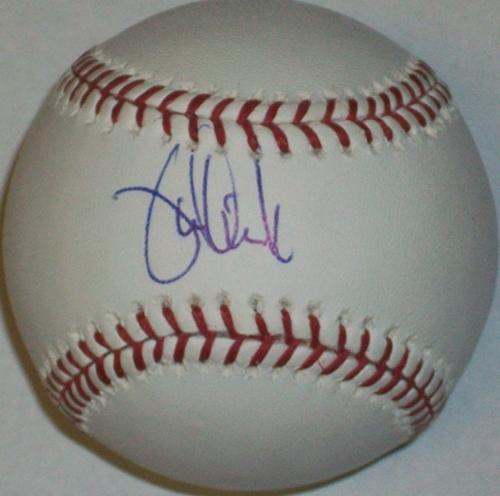 Photo of Jamie Quirk Autographed Baseball