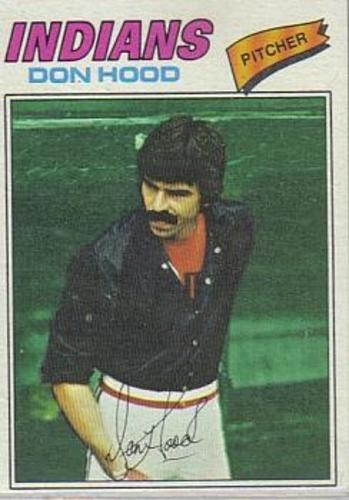 Photo of 1977 Topps #296 Don Hood
