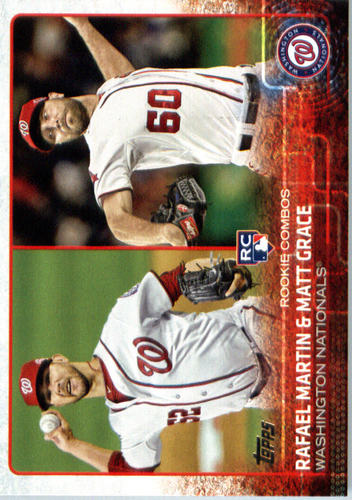 Photo of 2015 Topps Update #US59 Rafael Martin RC/Matt Grace Rookie Card  -- Nationals post-season