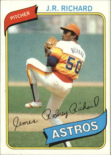 Photo of 1980 Topps #50 J.R. Richard