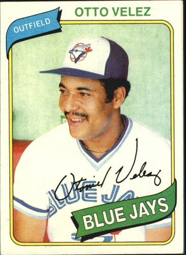 Photo of 1980 Topps #703 Otto Velez