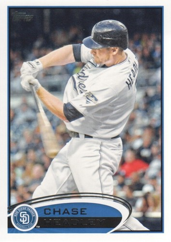 Photo of 2012 Topps #388 Chase Headley