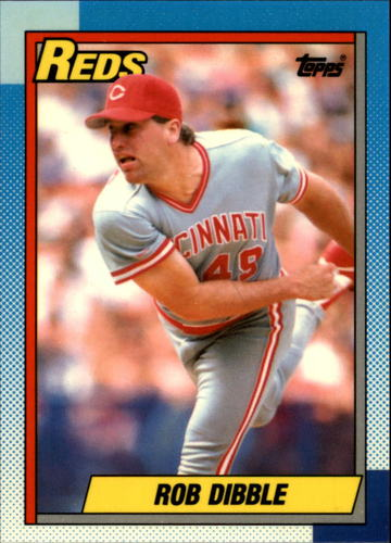 Photo of 1990 Topps Tiffany #46 Rob Dibble