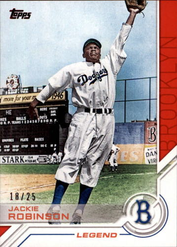 Photo of 2017 Topps Salute Red #S39 Jackie Robinson