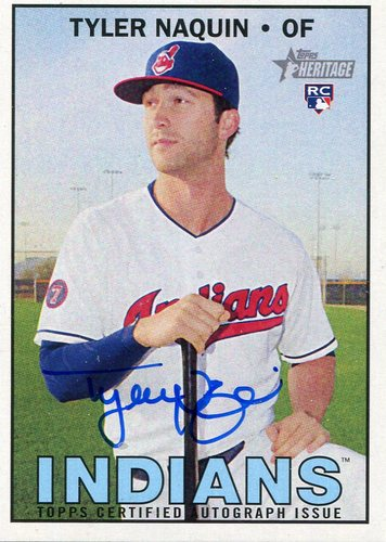 Photo of 2016 Topps Heritage Real One Autographs Tyler Naquin