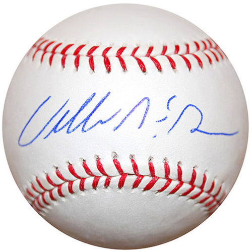 Photo of Cardinals Authentics: Willie McGee Autographed Baseball