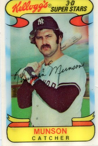 Photo of 1978 Kellogg's #30 Thurman Munson