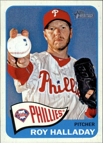 Photo of 2014 Topps Heritage #208 Roy Halladay