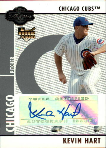 Photo of 2008 Topps Co-Signers #110 Kevin Hart AU (RC)