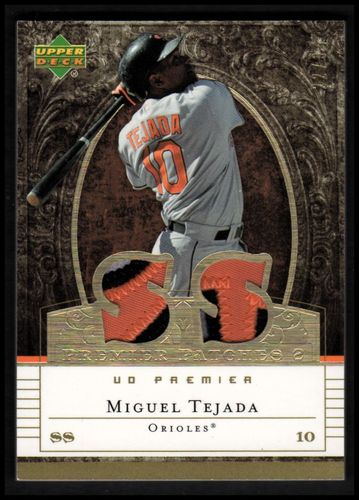 Photo of 2007 Upper Deck Premier Patches Dual Gold #TE Miguel Tejada/34