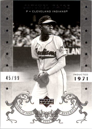 Photo of 2005 Upper Deck Hall of Fame Silver #83 Satchel Paige