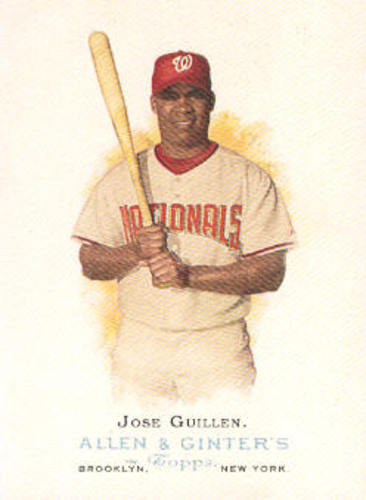 Photo of 2006 Topps Allen and Ginter #180 Jose Guillen