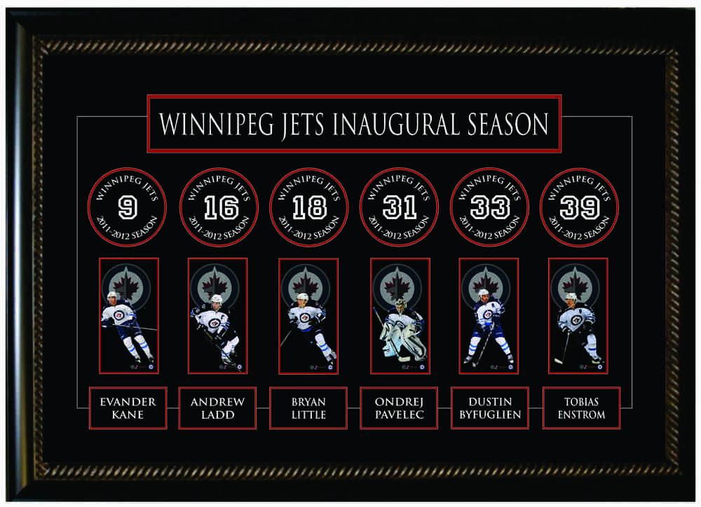 Winnipeg Jets Banner Frame 2011-12
