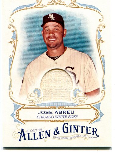 Photo of 2016 Topps Allen and Ginter Relics bat Jose Abreu