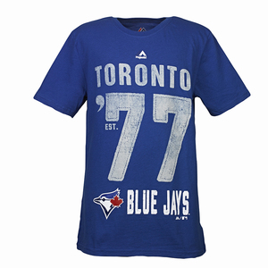 Toronto Blue Jays Youth Big Year T-Shirt by Majestic