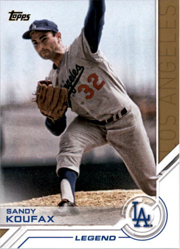Photo of 2017 Topps Salute #S16 Sandy Koufax