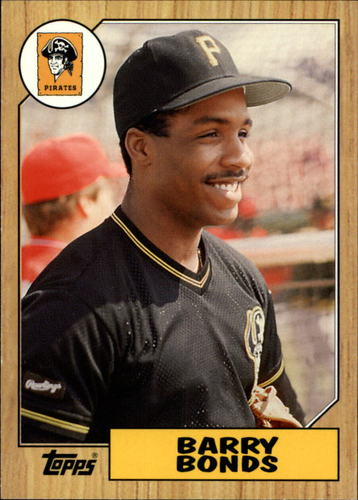 Photo of 2006 Topps Rookie of the Week #2 Barry Bonds 1987