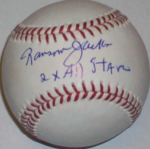 "Photo of Ransom Jackson ""2x All Star"" Autographed Baseball"