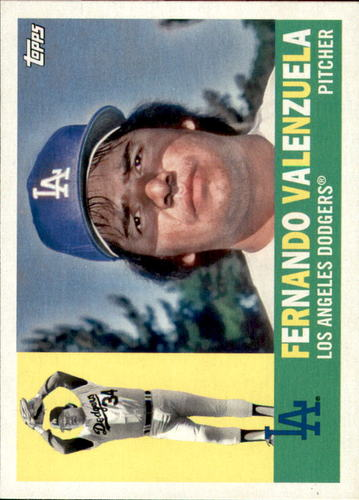 Photo of 2017 Topps Archives #55 Fernando Valenzuela