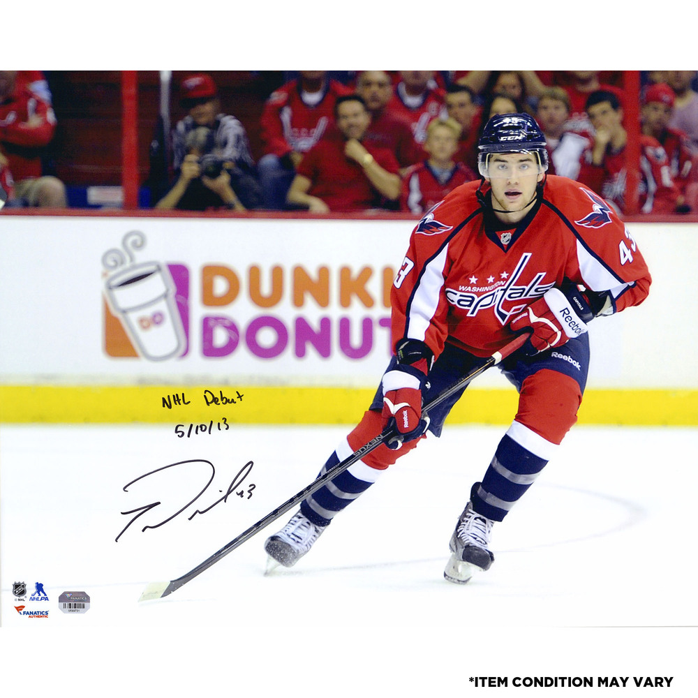 Tom Wilson Washington Capitals Autographed 16