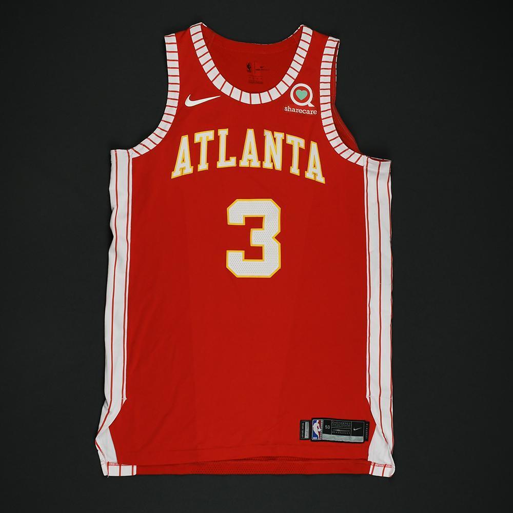 Marco Belinelli - Atlanta Hawks - Game-Worn Classic Edition 1970-72 Road Style Jersey - 2017-18 Season