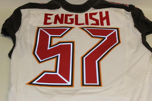 nfl Tampa Bay Buccaneers Larry English GAME Jerseys