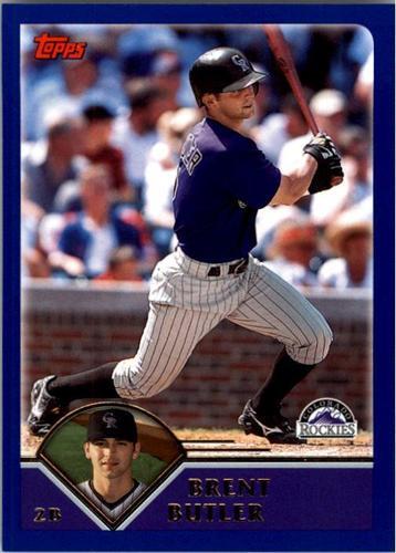 Photo of 2003 Topps #231 Brent Butler
