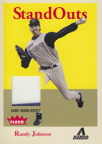 Photo of 2005 Fleer Tradition Standouts Jersey #RJ Randy Johnson