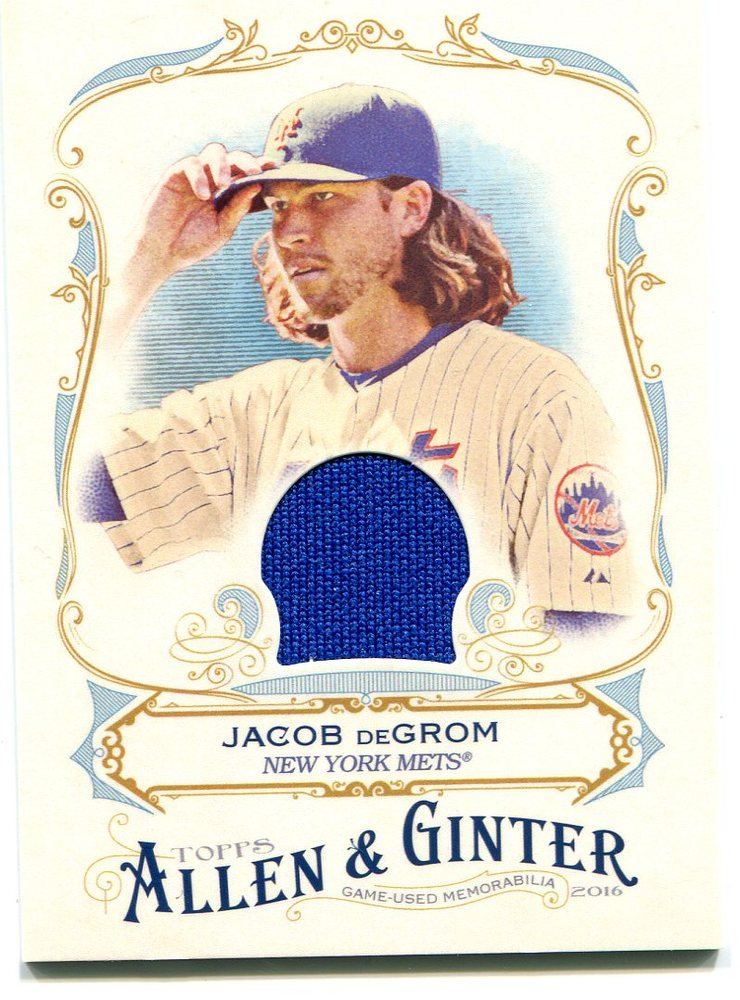 2016 Topps Allen and Ginter Relics jersey Jacob deGrom