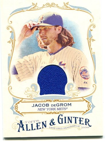 Photo of 2016 Topps Allen and Ginter Relics jersey Jacob deGrom