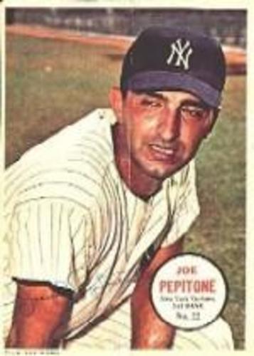 Photo of 1967 Topps Posters Inserts #22 Joe Pepitone