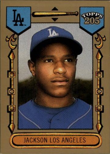Photo of 2003 Topps 205 #170 Edwin Jackson Rookie Card -- Nationals post-season
