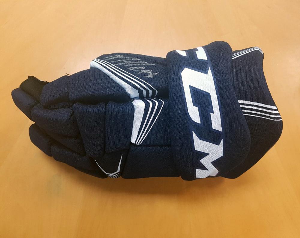Nazem Kadri Toronto Maple Leafs Autographed CCM Hockey Glove