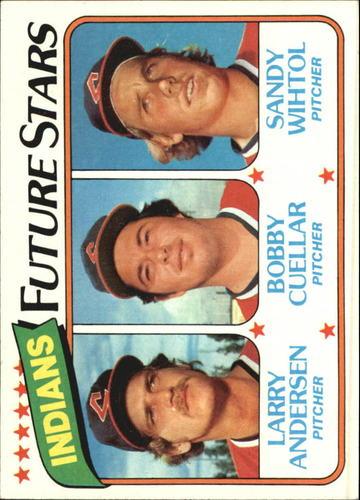 Photo of 1980 Topps #665 Larry Andersen/Bobby Cuellar RC/Sandy Wihtol RC
