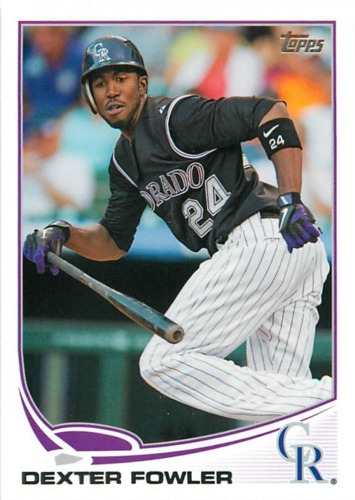 Photo of 2013 Topps #273 Dexter Fowler